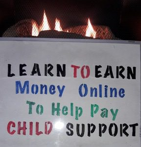 Learn To Earn Money Online To Help Pay Child Support Payments