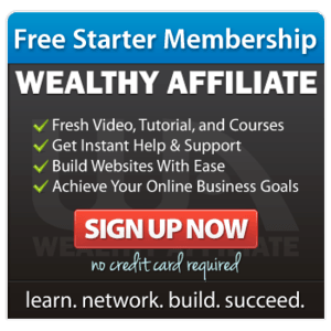 Wealthy Affiliate Free Training