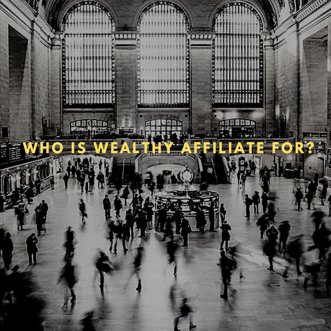 Who Is Wealthy Affiliate For