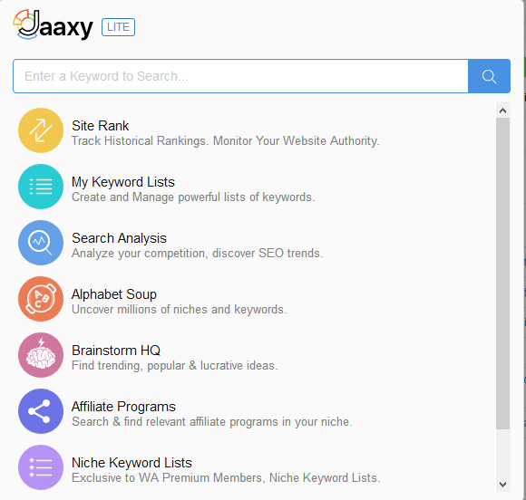 Jaaxy An Affiliate Marketing Keyword Research Tool