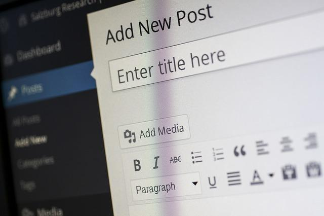 Write Your New Blog Post